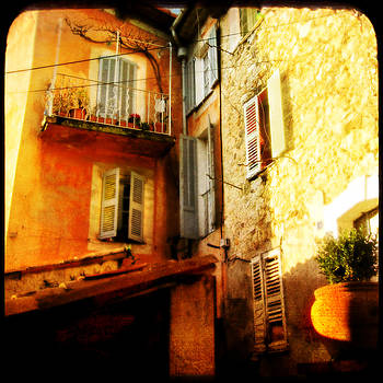 somewhere in the Souht of France by Sonia Stewart