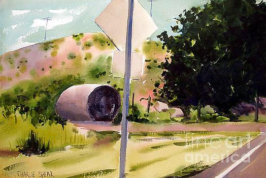 Somewhere Near Fort Sill Oklahoma by Charlie Spear