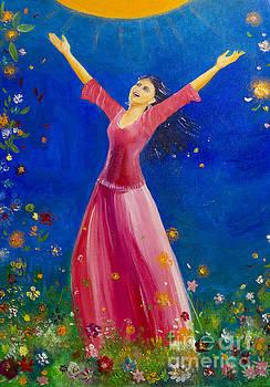 Song of happiness by Barbara Klimova