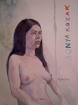 Sonya II by Ray Agius