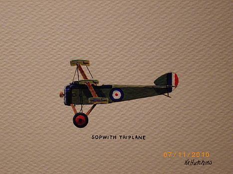 Sopwith Triplane by Keith Hutchins