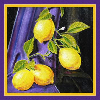 Irina Sztukowski - Sorrento Lemons Square Design