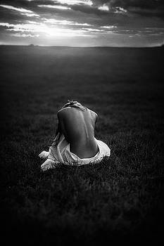 Sorrow Black and White by TJ Drysdale