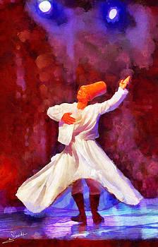 Soufi dance 2 by George Rossidis