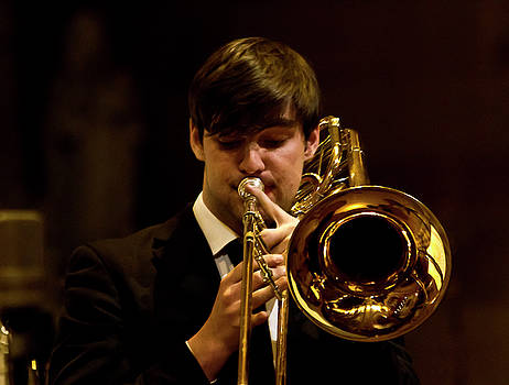 Sound of Trombone by Miroslava Jurcik