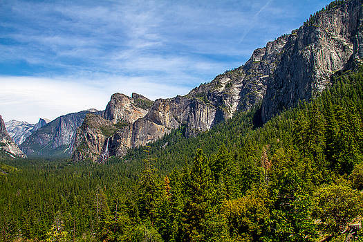 South end of Half Dome by Brian Williamson