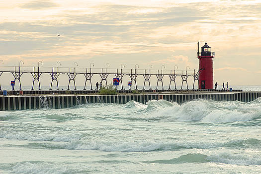 South Haven Light by Tammy Chesney