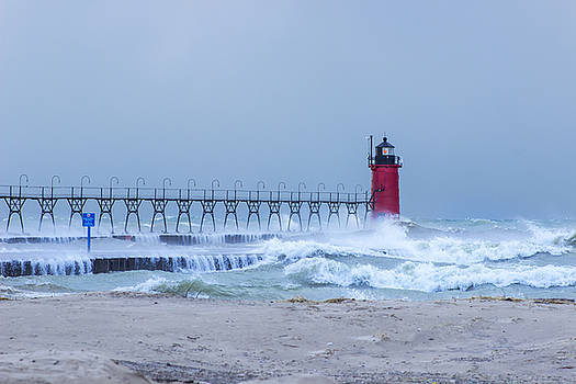 South Haven Red Light by Tammy Chesney