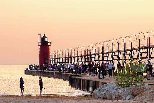 South Haven Sunset by Tammy Chesney