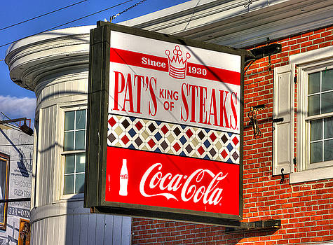South Philly Skyline - Pat's King of Steaks - Ninth and Passyunk in South Philadelphia by Michael Mazaika