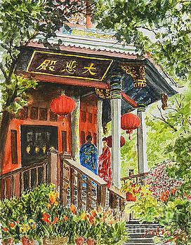 South Putuo Temple Xian by Jim Krug