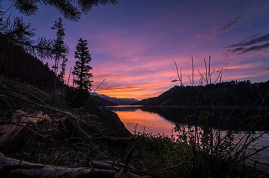 South Shore Lake Dillon Sunset by Michael J Bauer