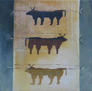 South West Buffalo by Eve Corin