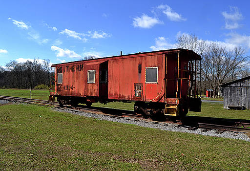Southern Railroad Caboose 001 by George Bostian
