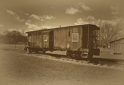 Southern Railroad Caboose old time 001 by George Bostian