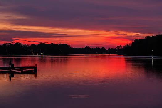 Southern Sunset by Deborah Flowers