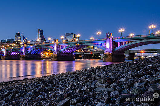 Southwark Beach by James Evans