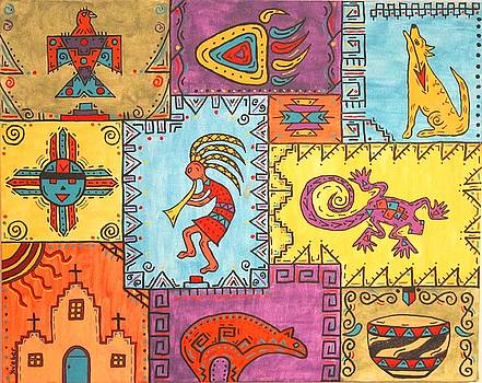 Southwest Sampler by Susie WEBER