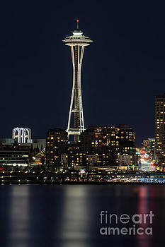 Space needle by Jim  Hatch