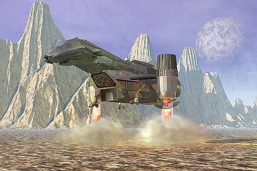 Spaceship by Carol and Mike Werner