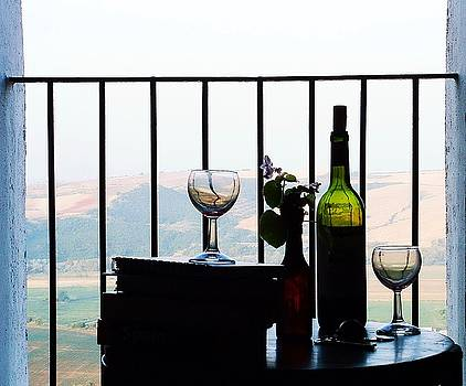 Spain Balcony by Josephine Benevento-Johnston