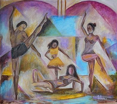 Spanish Family Ballet by Pedro Seleme
