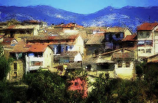 Spanish town by John Stuart Webbstock