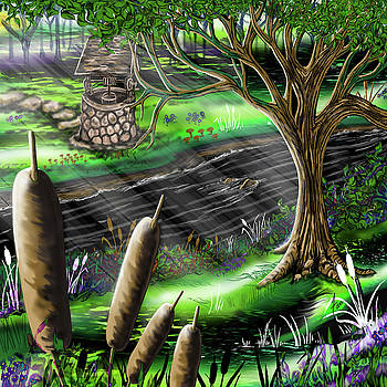 Spearmint Forest by Steve Farr
