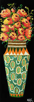 Special Orange FLowers by Kenji Lauren Tanner