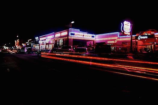 Speeding' Down Route 66 by Richard Gehlbach