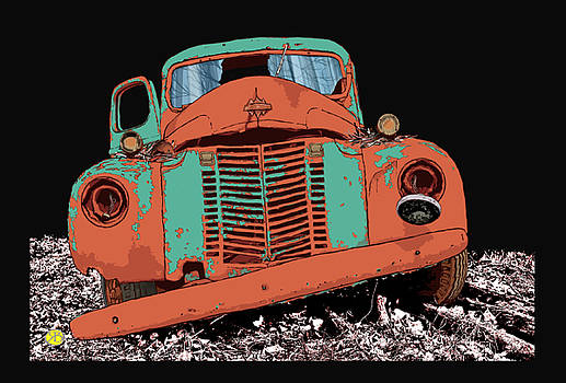 Speedwagon, rusted by Robert Breton