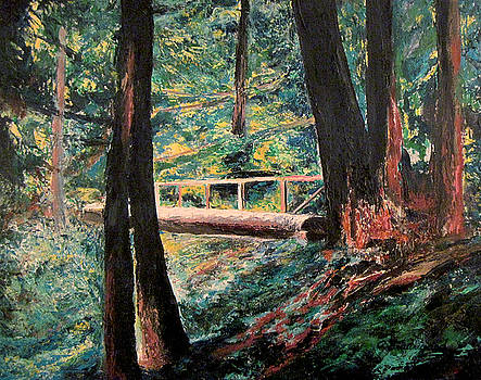 Spider Lake Bridge by Richard Beauregard