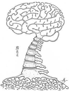 Spine Tree by Robert Fenwick May Jr