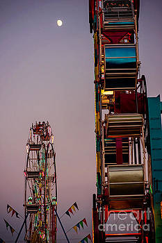 Spinning Wheels by Randall  Cogle