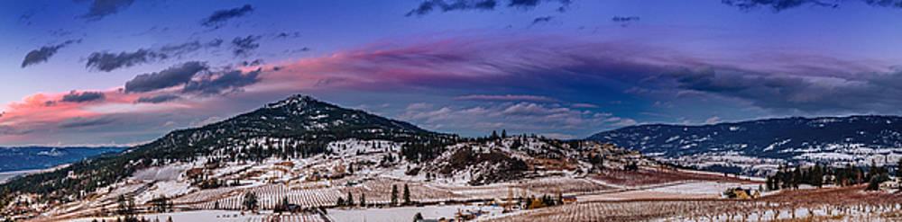Spion Kop in Winter by Rod Sterling