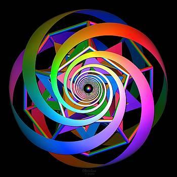 Spiral Dodeca Star by Scott  Bricker