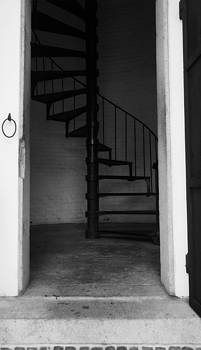 Spiral stairs by Laurie Pike