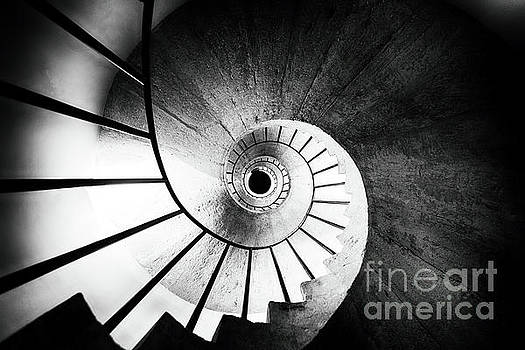 Spiraling Up by George Oze