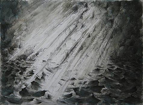 Spirit of God on the waters by Rachel Christine Nowicki