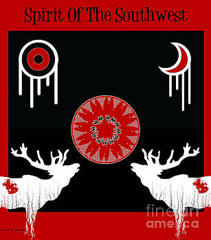 Spirit Of The Southwest Poster 2 by Sharon K Shubert