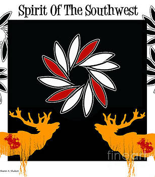 Spirit Of The Southwest Poster by Sharon K Shubert