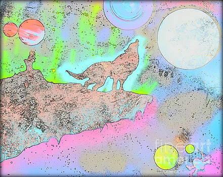 Spirit of the Wolf Color Sketch Edition by Justin Moore