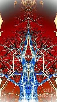 Spirit Tree, My Burr Oak by Karen Newell