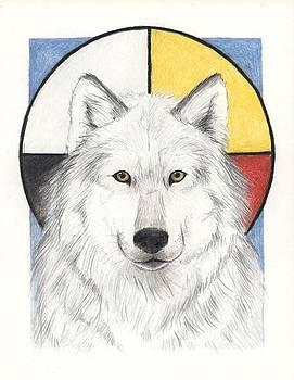 Spirit Wolf by Brandy Woods