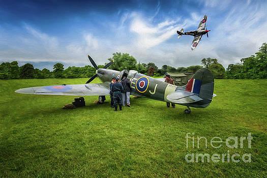 Adrian Evans - Spitfire Parade