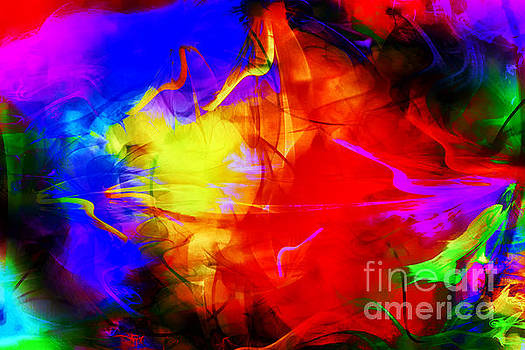 Splash of color by Geraldine DeBoer