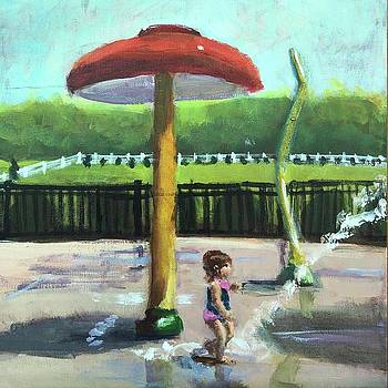 Splash Pad by Susan E Jones