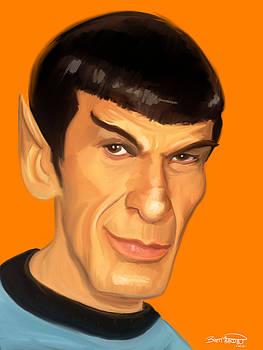 Spock by Brett Hardin