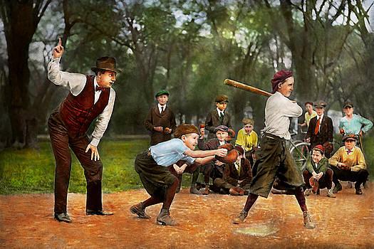 Mike Savad - Sport - Baseball - Strike one 1921