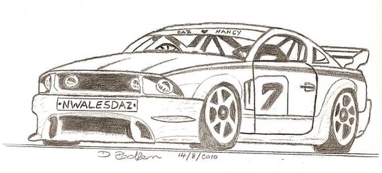 Sport Car by Darryl Redfern